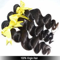 Wholesale A New products bundle loose wave real virgin raw Russian Eurasian European Brazilian bady curly hair weft DHL
