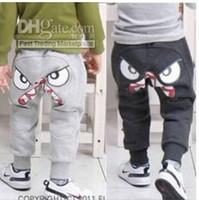 Wholesale Children s spring fall trousers harem pants Children cotton trousers cv
