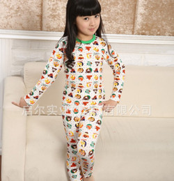 Wholesale Sample order popular Autumn Children s cotton Lycra shirt Underwear Loungewear