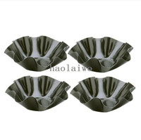 Wholesale 4PCS Mini Tortilla Bowl Bakers Petite Taco Shell Makers Nonstick Molds