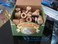 other   Free shipping 180pcs lot(36pcs box) mini Original corn cob tobacco pipe as healthy smoke cigarette filter,eco-friendly