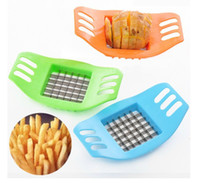 French Fry Cutters Metal ECO Friendly 3pcs Unique Stainless Steel French Fry Cutter Potato Chip Vegetable Slicer Hotsale ID:2013072202