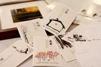 """Paper   """"Twenty-four solar term"""" postcards, value box paper memory Postcard Birthday Card Greeting Card 3 sets (1 sets of 30 Zhang)"""