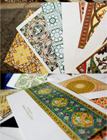 Paper   Boxed Postcard traditional patterns of paper memory Postcard Birthday Card Greeting Card 3 sets (1 sets of 30 Zhang)