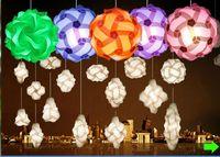 Wholesale iq puzzle lamp iq lights party light wedding light Small size diameter mm
