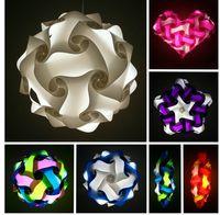 Wholesale iq puzzle light iq jigsaw lights party light Medium size diameter mm