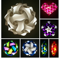 Wholesale iiq puzzle light iq jigsaw lights party light Medium size diameter mm