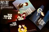 Paper   The Q Edition Box Postcard May day paper memory Postcard Birthday Card Greeting Card 3 sets (1 sets of 30 Zhang)