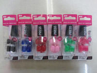 Cheap 2013 New Arrival !! Good Quanlity 24pcs set Nail Full Cover Plastic Acrylic Nails Tips Free shipping