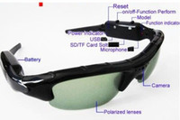Wholesale hidden spy sungals camera with picture Mini DV DVR Sun glasses Camera Audio Video Recorder