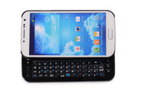 Wholesale mobile phone portable keyboard buletooth keyboard for Samsung Galaxy S4 galaxy with keyboard white and black colour