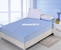 Wholesale Thickening cotton padded type fitted simmons protective case mattress cover meters bedding bed skirt bedspread