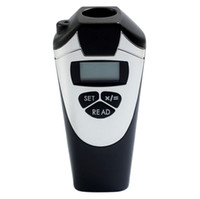 Wholesale CP Ultrasonic Distance Measurer Electronic Digital Range Finder Black