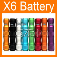 X6 VV Battery for Electronic Cigarette Various Color Battery...