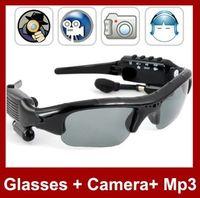 No dvr mp3 sunglasses - SunGlasses Hidden Camera Video Recorder With MP3 Player TF Card Slot Mini DV DVR CCTV Camera hot sunglasses camera with mp3 coolcity2012