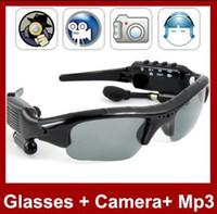 No dvr mp3 sunglasses - spy sunglasses camera wth MP3 functin and Hidden Camera Video Recorder camera TF Card Slot Mini DV DVR Camera