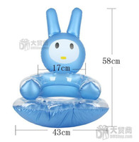 Other Living Room Furniture sofa - Lovely Cartoon Rabbit Furniture Home Leisure Inflatable Kids Sofa Free Shiping