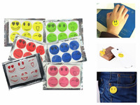 sticker bug repellent - Smiling Face Best Mosquito Natural Repellent Patch Insect Bug Repellent Sticker Camping Retail Package set