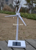 Wholesale Solar Powered Model Of Aero generator Toy ABS