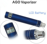 Electronic Cigarette Set Series  LCD display herb vaporizer ago with pen dry herb vaporizers elctronic cigarette Best