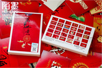 Paper   Boxed postcards New Year Traditions - good luck in everything Postcard Birthday Card Greeting Card 3 sets (1 sets of 30 Zhang)