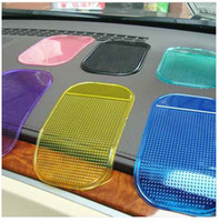 Wholesale 20 X New Car Dashboard Sticky Pad Mobile Phone GPS Anti slip Mat Holder for iPhone s G HTC Samsung