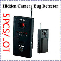 Wholesale HK POST XB Multi Detector Full Range All Round Wireless RF Signal Bug Detector Hidden Camera Bug Detector Finder
