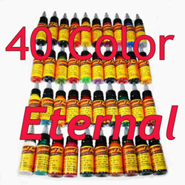Wholesale Express Eternal Tattoo Inks Colors Sets ml Tattoo Pigment OZ Tattoo Supply
