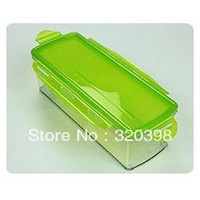 Containers of Nicer Dicer Plus Just Vegetable Container Nice...