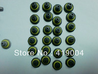 Plastic For Apple iPhone black ang gray For Iphone 5 4 4S Waterproof CASE earphone jack Covers Screws Seal caps Replacement,1000pcs