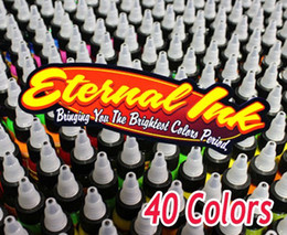 Wholesale Eternal Colors Tattoo Inks OZ Set Tattoo Pigment ML Professional Tattooing Supply