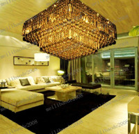 Wholesale LLFA109 High Quality Modern Crystal Ceiling Chandelier Pendant Lighting Droplight Lamp Transparent Water Droplets