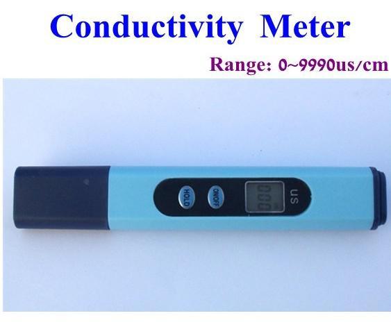 Aquarium Conductivity Meter : Meter new hydroponics aquarium ec conductivity tester