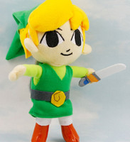 Natural Zelda  The Valentines Day The Legend of Legend Zelda NINTENDO 20CM stuffed plush toys EMS free shipping