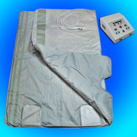 Wholesale Pro FIR FAR INFRARED SLIMMING SAUNA BLANKET SPA WEIGHT LOSS PORTABLE A