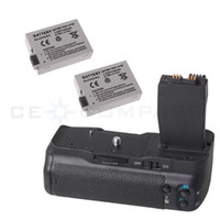Wholesale Battery Grip For Canon EOS D D BG E8 Rebel T2i T3i SLR LP E8 Batteries