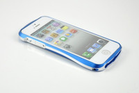 For Apple iPhone aluminum frame - Double Color Metal Aluminum Frame Bumper shell Case Cover for Iphone P311