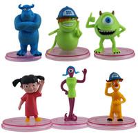 Wholesale Cute Monsters University Inc PVC Figure Set of pc Set Brand New