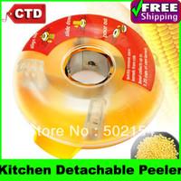 Wholesale Cheap Kitchen Detachable One Step Corn Kerneler Peeler