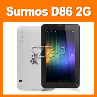 Wholesale Surmos D86 G Phone Tablet A13 Android Inch Screen Dual Cameras Wifi Bluetooth