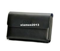 Wholesale 2013 fashion men business clutch bag genuine leather clutch brief case business card holder passport holder card wallet