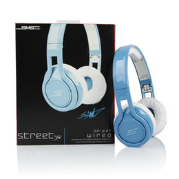 Rue sms via un casque d'oreille à vendre-SMS Audio SYNC STREET by 50 Cent Headphone Casque écouteurs avec fil AK014