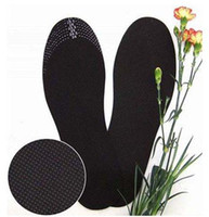 Wholesale mixed order over usd pair Shoes insoles shoe pad bamboo charcoal fiber scalable size adjustable