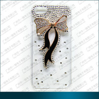 Wholesale Stylish pearl diamond hybrid plastic hard case for blackberry Z10