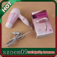 Wholesale FLYCO W Heat Speed Flodable Handle Quiet Sound Function Portable Household Pink Mini Hair Blower Dryer