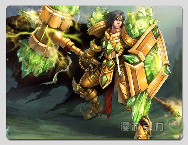 300 250 5mm League of Legends LOL Taric the Gem Knight Emerald Taric    Gem League Of Legends