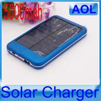 USB 5000mAh панели солнечных батарей Зарядное устройство для мобильного телефона MP3 MP4 PDA