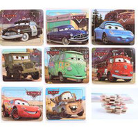 Wholesale 20 Piece Wooden Cars General mobilization Puzzle models