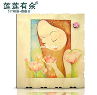 Bamboo 81 zhang - 100 zhang paste type Day gift music photo album wool photo album diy photo album handmade photo album product