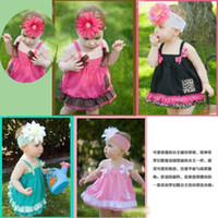 Children Girls Bow Children's dresses, baby infant toddler sling dress,long vest, 3 sizes ,AL1215
